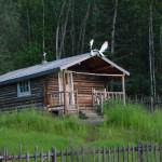 Robert Service Cabin.